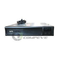 APC Smart-UPS LCD RM SMT1500RMUS 6 Outputs 1500VA 1000W 120V Rack 2U 459J USB