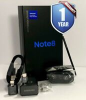 SAMSUNG GALAXY NOTE 8 NEW CPO SM-N950U 64GB BLACK FACTORY UNLOCKED AT&T CRICKET