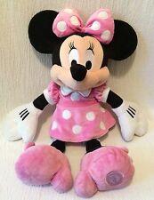 "19"" Plush Disney Store Minnie Mouse Pink"
