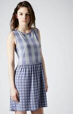 Check Casual Regular Size Topshop Dresses for Women