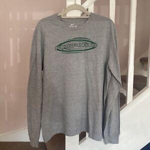 Nike Long Sleeved T Shirt Size XL Designer Casual Retro Vintage Hipster