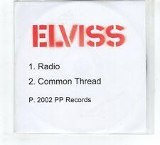 (GP740) Elviss, Radio / Common Thread - 2002 DJ CD