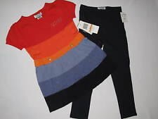NWT GUESS 2pc set GIRL size M 5/6 multi color