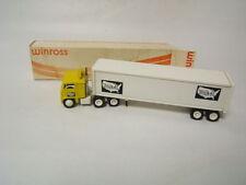 Winross Mural Transport Inc tractor trailer  White 7000 Cab 1982