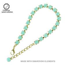 Dorato Braccialetto con elementi SWAROVSKI Colore: Opale Del Pacifico