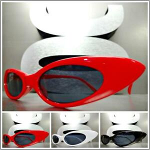 EXAGGERATED VINTAGE 50s RETRO Style SUNGLASSES Small Thin Fashion Frame 3 Colors