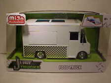 Food Truck Foodie Vendor Diecast 1:24 Jada Just Trucks 8 inch Unmarked White