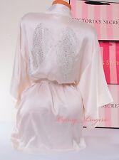 VICTORIA'S SECRET Bling Angel Wings Kimono Robe VS One Size Coconut White/ Ivory