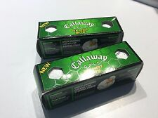 2 NIP 3 packs Callaway HX hot Bite Golf Balls
