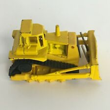 "Hot Wheels Bulldozer Construction Equipment Toy Yellow Dozer Tractor 3"" Vintage"