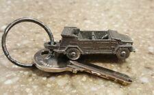VINTAGE NOS VOLKSWAGEN VW THING TYPE 181 Keychain Key Fob Key ring Pewter