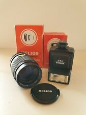 Vintage HELIOS 135mm 2.8 MC Telephoto Portrait Lens for M42 & 228 flashgun