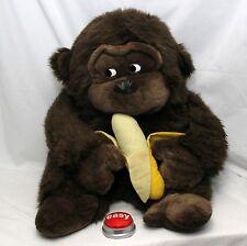 "Gorilla Ape Plush HUGE 22"" Embrace"