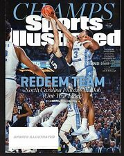2017 Sports Illustrated North Carolina TarHeels NCAA Champs Subs Issue Excellent