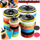 7/6/5/3INCH Car Buffing Pads Polishing for Drill Sponge Kit Waxing Foam Polisher