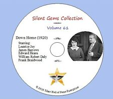 """DVD """"Down Home"""" (1920) with Leatrice Joy, Sidney Franklin, Classic Silent Drama"""