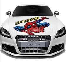 Reflective SPIDERMAN Decal Vinyl Car Sticker Auto Hood Cover Scratch Sticker DIY
