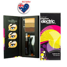 Technic Electric Beauty Eyebrow Define Kit Powder Wax Stencils Pencil Set