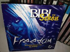 Bibi Schon Freedom Rare Cd Maxi Single 5 Tracce DJ DADO PRINTED ITALY 1998