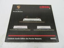 Z - Marklin 98066 Porsche Battery Starter Set DCC/DC E-Loco BR152 + 2 Cars NIB