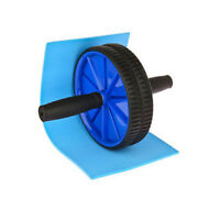 ABS ABDOMINAL EXERCISE WHEEL GYM FITNESS MACHINE BODY STRENGTH TRAIN ROLLER HOME