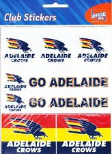 ADELAIDE CROWS * CLUB STICKERS * AFL * NEW & SEALED