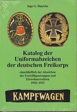 1455: Katalog der Uniformabzeichen der deutschen Freikorps - Kampfwagen