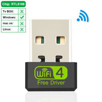 Ethernet 2.4G Driver Free Network Card WiFi Receiver Adapter WiFi Dongle