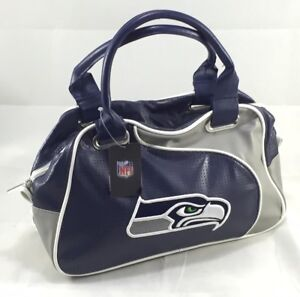 NFL Seattle Seahawks Official License Perfect Bowler Womens Purse Handbag