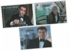 "Women Of James Bond In Motion - 3 Card ""Motion/Lenticular"" Case Topper Set MT1-3"