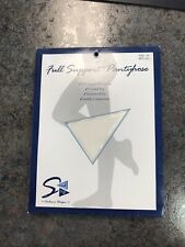 Full Support Pantyhose/Compression Socks BRAND NEW NEVER WORN White