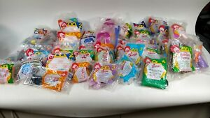 NEW Vintage McDonalds Lot Of 47 Barbie Hunchback Duck Tales Aladdin MORE Sealed