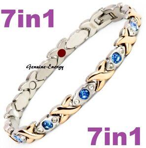 Magnetic Energy Armband Power Bracelet Health Bio GERMANIUM Magnet 7in1 lady's