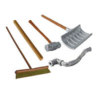 Wrestling Figure Gear Deal 13: Pipe, Sledgehammer, 2x4, Shovel For WWE Figures
