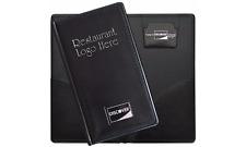 50 Custom LOGO Double Panel Check Presenter Discover lot CREDIT CARD RESTAURANT