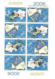 Georgia: mint booklet, EUROPA - Writing Letters, 2007, Mi#551-2, MNH