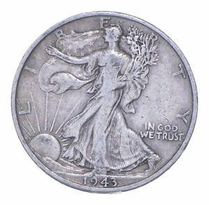 1943-D Walking Liberty 90% Silver US Half Dollar *849