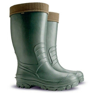 Thermal LIGHTWEIGHT EVA Wellies Wellingtons Boots 30C HUNTING FISHING UNIVERSAL