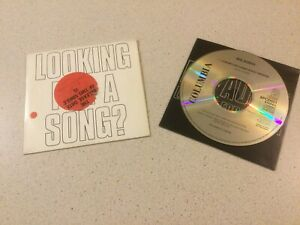 BIG AUDIO (DYNAMITE)  -  LOOKING FOR A SONG  -  PROMO 1 TRACK CD ON COLUMBIA