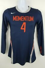 Nike Dri Fit Long Sleeve Running Team Momentum 4 Blue Shirt Top Size S