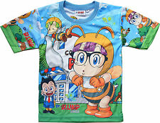 T-shirt Top Arale Norimaki Dr Slump Manga Anime Kawaii -Neuf- Tailles 3 à 8 Ans