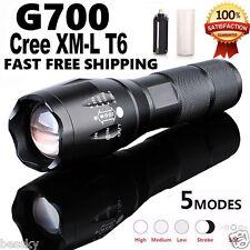 20000LM Tactical Flashlight Tactical LED Military SkyWolfeye ShadowHawk Zoom US
