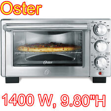 Convection Toaster Oven Electric Digital Large 6 Slice Pizza Stainless Steel NEW