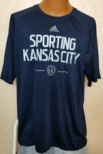 Adidas Sporting Kansas City Mens T-Shirt Climalite Athletic Size XL
