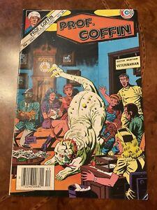Charlton Prof Coffin #20 comic book copper age 1985
