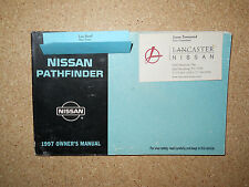1997 NISSAN PATHFINDER OWNERS MANUAL
