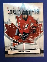 2007-08 In The Game O Canada Under 18 #7 Drew Doughty Pre Rookie Team Canada PRC