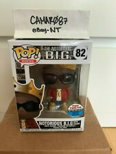 Funko Pop Rocks Notorious B.I.G With Crown 2018 Toy Tokyo New York Comic Con