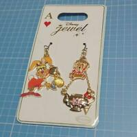 Disney Store Alice in Wonderland March Hare The Dormouse Earring Jewelry NEW