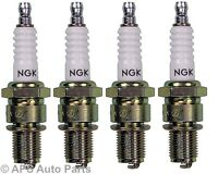 4x Mitsubishi Space Wagon Space Runner 1.8 2.0 NGK Spark Plugs 2756 BKR6E-11 New